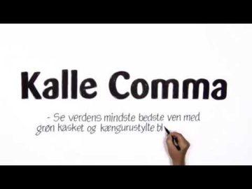 Kalle Comma - Speed Video af tegner Poul Carlsen