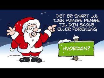 Børns Vilkår Julekalender - Speed Video af tegner Poul Carlsen