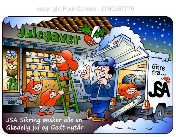 Tegner Illustrator Poul Carlsen I Tegninger Med Humor Og Ide Til